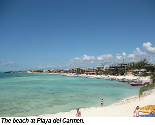 MEX-PlayadelCarmenbeach