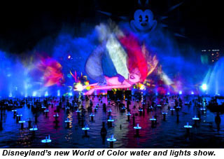 Disneyland World Of Color show