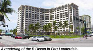 Rendering of the B Ocean in Fort Lauderdale