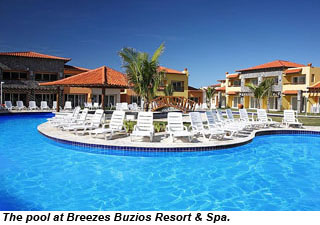 The Pool At Breezes Buzios Resort