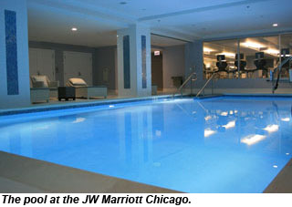 New fitness wellness options at jw marriott chicago for A j salon chicago