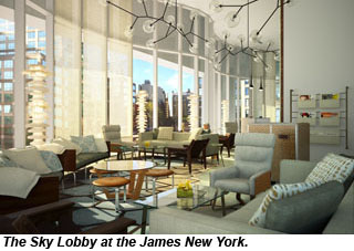 James Hotel Opens In Downtown Nyc Travel Weekly