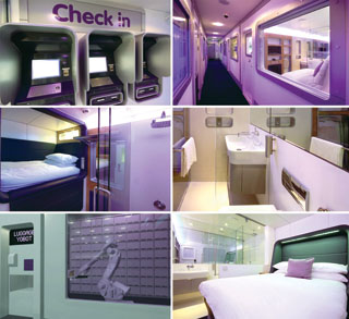 Yotel collage