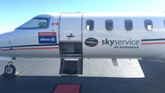 Dispatch, Richmond: Onboard a Skyservice Air Ambulance
