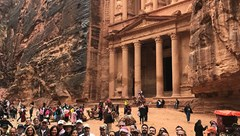 Tourism Cares in Jordan group photo