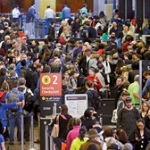 multiple factors have contributed to long airport security lines