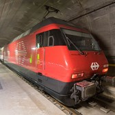 gotthard base tunnel quickens train travel through swiss alps